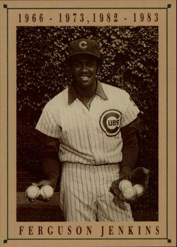 1992 Cubs Old Style #16 Ferguson Jenkins