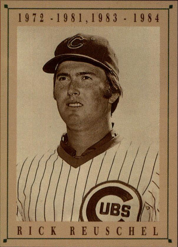 1992 Cubs Old Style #19 Rick Reuschel