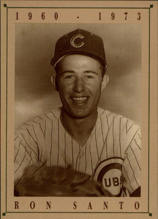 1992 Cubs Old Style #21 Ron Santo