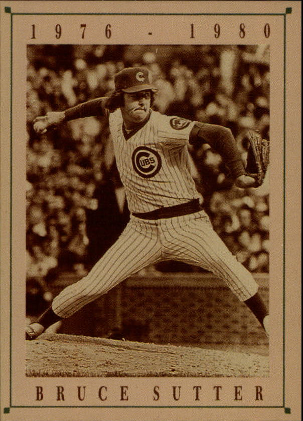 1992 Cubs Old Style #24 Bruce Sutter