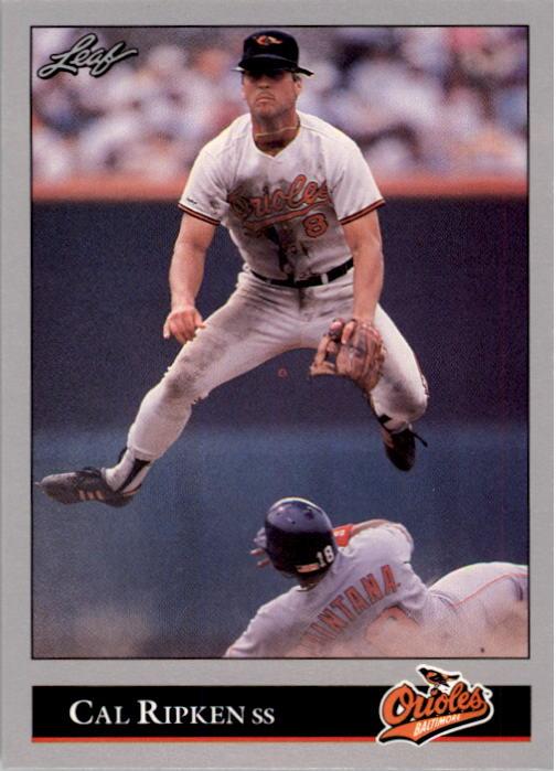 1992 Leaf #52 Cal Ripken