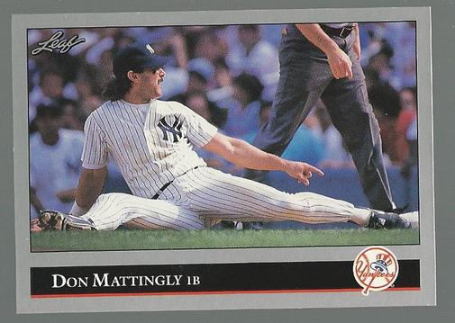 1992 Leaf #57 Don Mattingly