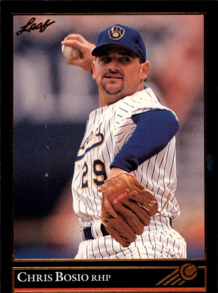 1992 Leaf #266 Chris Bosio