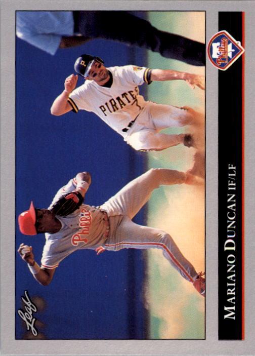 1992 Leaf #311 Mariano Duncan