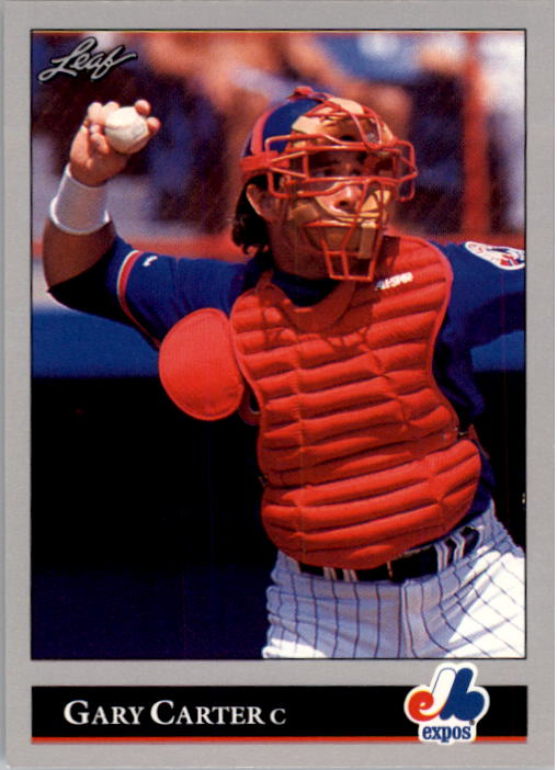 1992 Leaf #442 Gary Carter