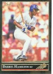 1992 Leaf Black Gold #12 Darryl Hamilton