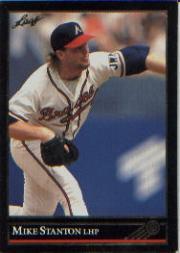 1992 Leaf Black Gold #377 Mike Stanton