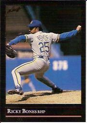 1992 Leaf Black Gold #500 Ricky Bones