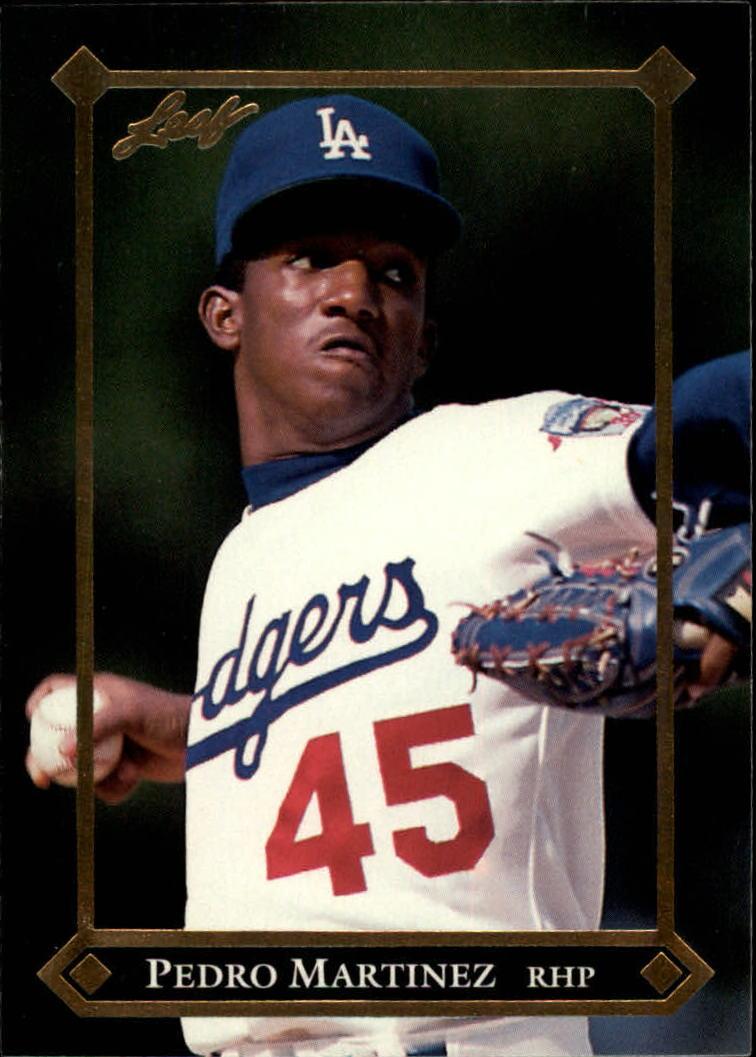 1992 Leaf Gold Rookies #BC3 Pedro Martinez