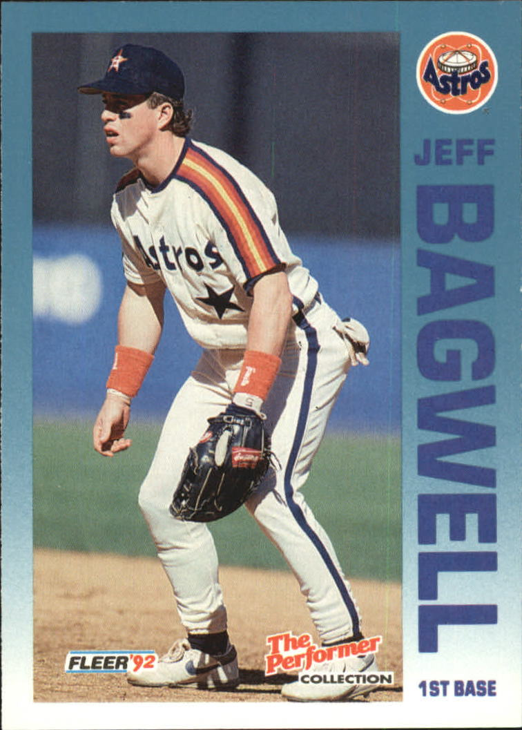 1992 Fleer Citgo The Performer #19 Jeff Bagwell