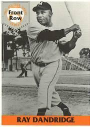 1992 Front Row Dandridge #3 Ray Dandridge/Negro League Statistics