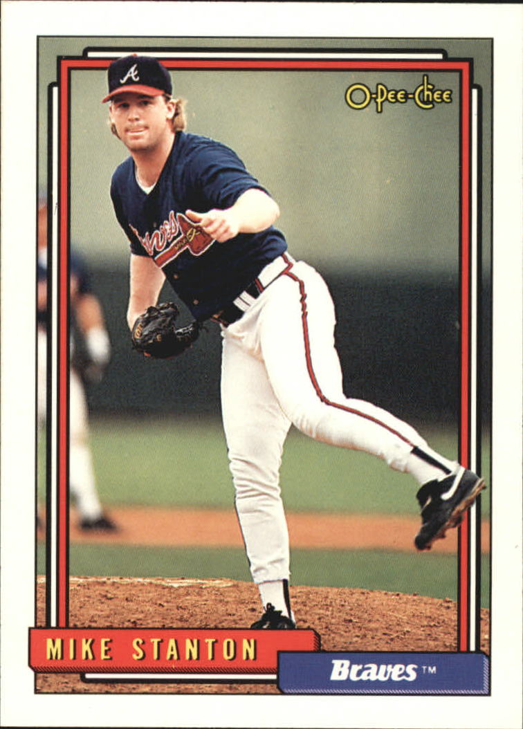 1992 O-Pee-Chee #788 Mike Stanton