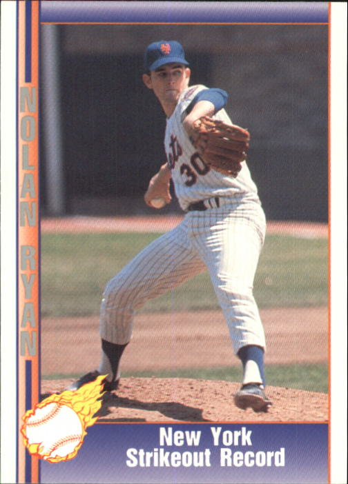 1992 Pacific Ryan Texas Express II #122 Nolan Ryan/New York Strikeout Record