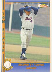 1992 Pacific Seaver #22 Tom Seaver/Second Cy Young Award