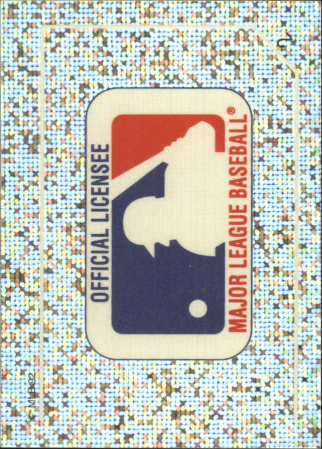1992 Panini Stickers #2 MLB Logo