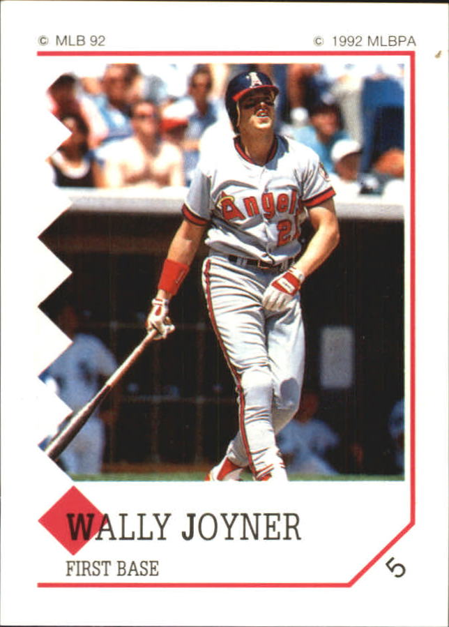 1992 Panini Stickers #5 Wally Joyner