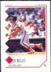 1992 Panini Stickers #6 Luis Sojo
