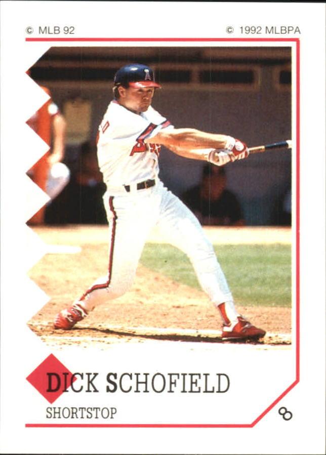 1992 Panini Stickers #8 Dick Schofield