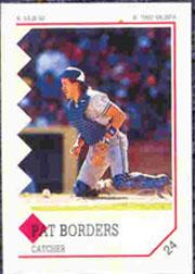1992 Panini Stickers #24 Pat Borders