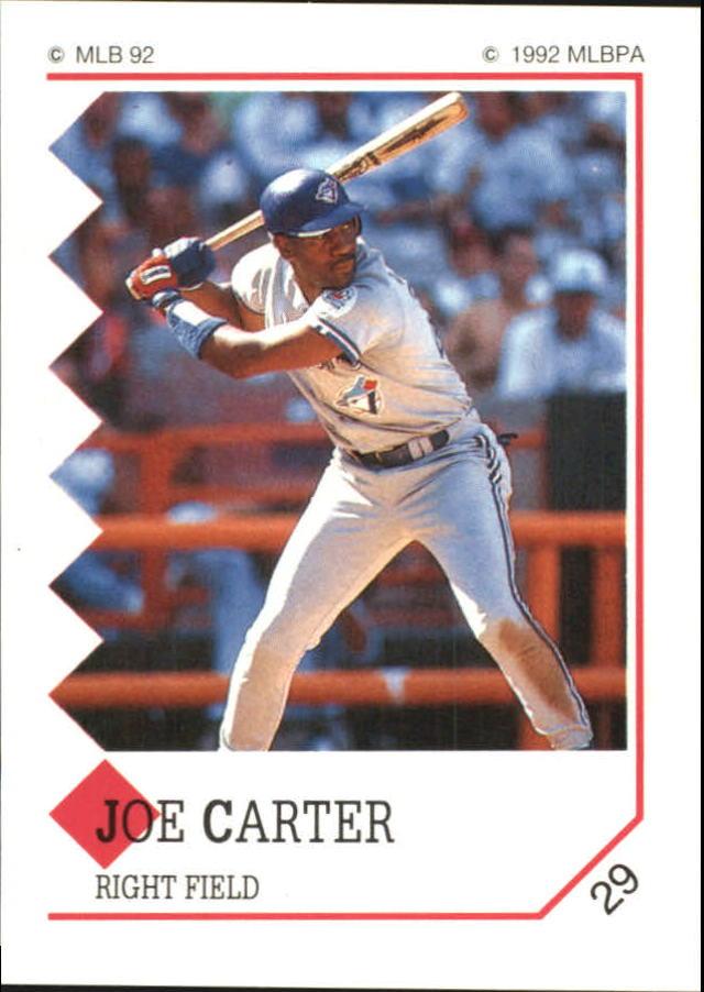 1992 Panini Stickers #29 Joe Carter