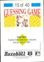 1992 Panini Stickers #32 Dave Stieb back image