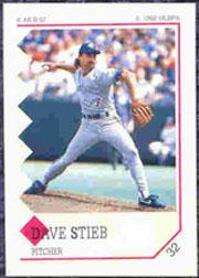 1992 Panini Stickers #32 Dave Stieb