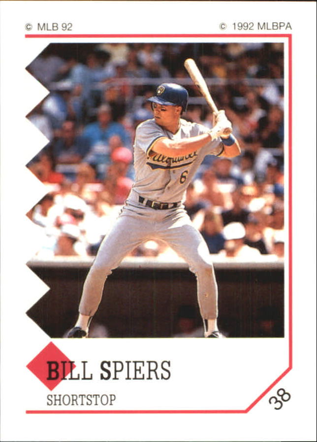 1992 Panini Stickers #38 Bill Spiers