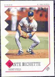 1992 Panini Stickers #39 Dante Bichette
