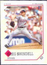 1992 Panini Stickers #52 Greg Swindell