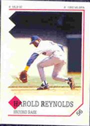 1992 Panini Stickers #56 Harold Reynolds