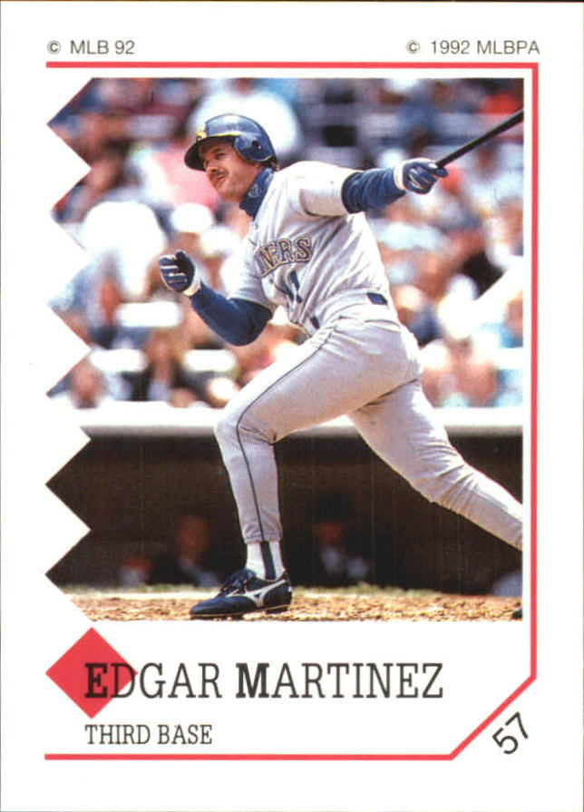 1992 Panini Stickers #57 Edgar Martinez
