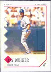 1992 Panini Stickers #59 Jay Buhner