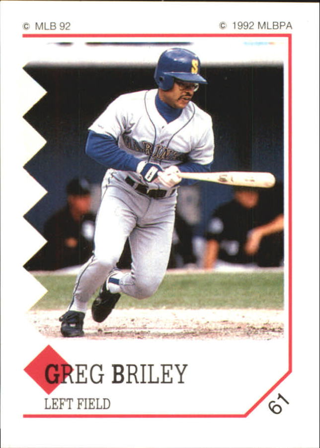 1992 Panini Stickers #61 Greg Briley