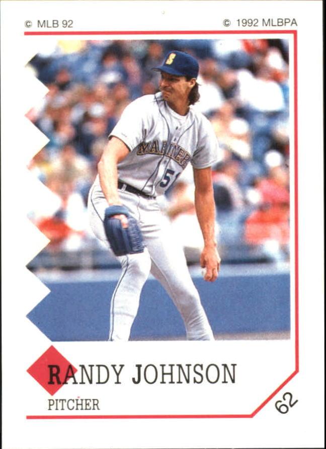 1992 Panini Stickers #62 Randy Johnson