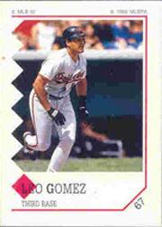 1992 Panini Stickers #67 Leo Gomez