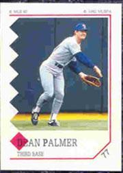 1992 Panini Stickers #77 Dean Palmer