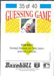 1992 Panini Stickers #78 Jeff Huson back image