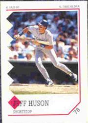 1992 Panini Stickers #78 Jeff Huson