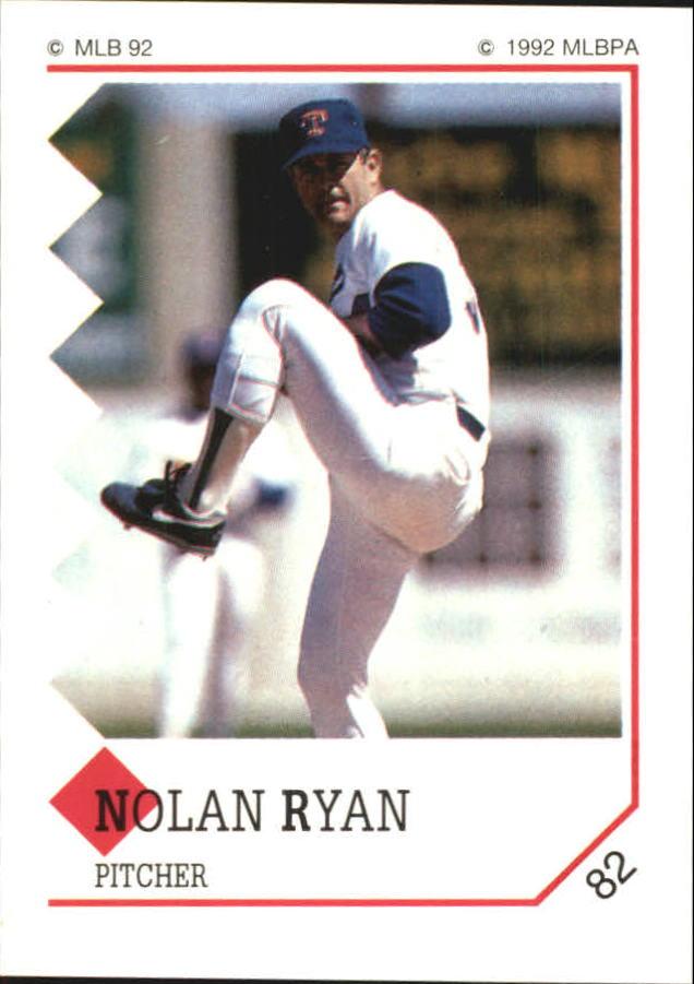 1992 Panini Stickers #82 Nolan Ryan