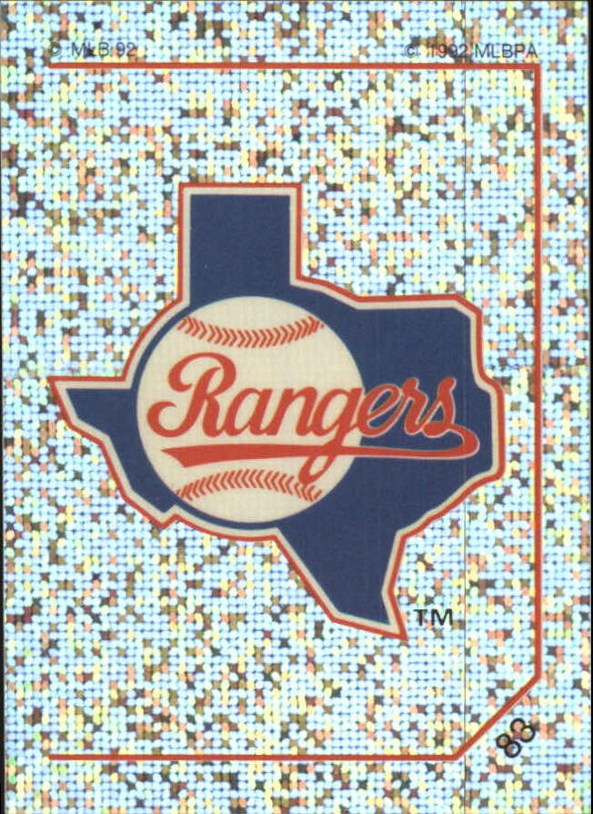 1992 Panini Stickers #83 Rangers Team Logo