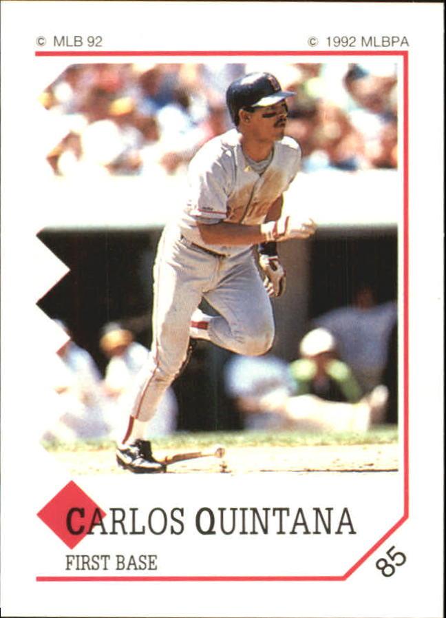 1992 Panini Stickers #85 Carlos Quintana