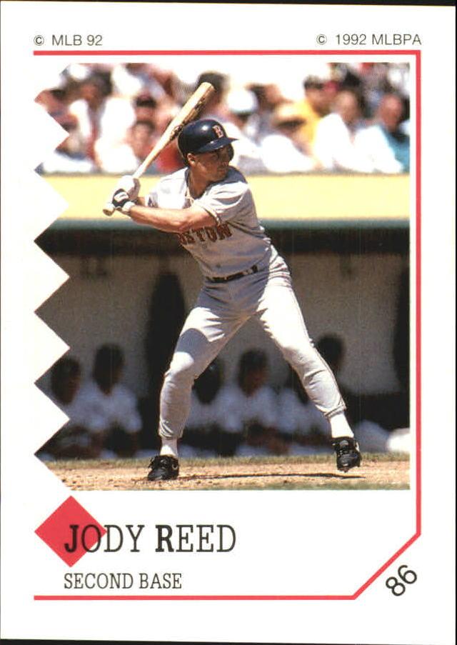 1992 Panini Stickers #86 Jody Reed