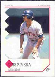 1992 Panini Stickers #88 Luis Rivera