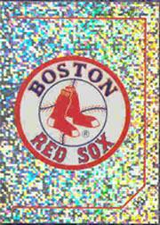 1992 Panini Stickers #93 Red Sox Team Logo