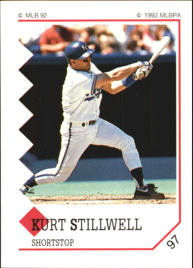 1992 Panini Stickers #97 Kurt Stillwell