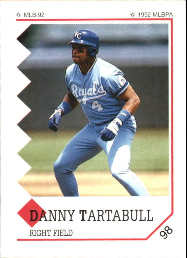 1992 Panini Stickers #98 Danny Tartabull
