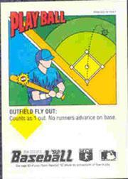 1992 Panini Stickers #110 Milt Cuyler back image