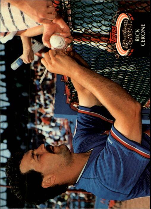 1992 Stadium Club #705 Rick Cerone
