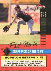1992 Stadium Club First Draft Picks #3 Phil Nevin back image