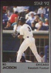1992 Star Bo Jackson #9 Bo Jackson/Baseball/Football